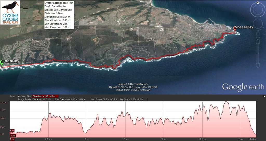 Oyster Catcher Trail Run Profile Day 3
