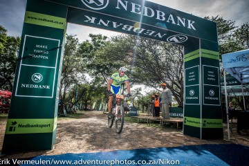 Smal wins Nedbank Save The Rhino Mountain Bike