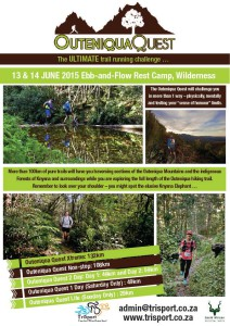 Outeniqua Quest 2015 around the corner