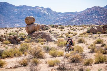 Challenging conditions at Namaqua Quest MTB Stage Race